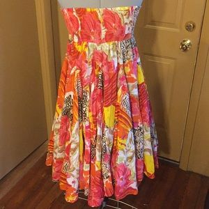 Olivia & Grace Colorful and Flowy Dress